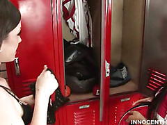 Lascivious teacher copulates a cute schoolgirl in the classroom