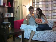 Anything can happen on Halloween and even this shy eighteen y.o. chick lastly makes a decision to try anal sex with her ever horny boyfriend. This Babe starts it all with a mind boggling oral sex engulfing dong good to prepare it for her constricted virgin wazoo hole, then follows with getting anally fingered and taking some great backdoor fucking in various poses. Doggystyle or not - this inexperienced legal age teenager cutie enjoys each pont of time of it with completely recent unfathomable and extremely powerful sensations.